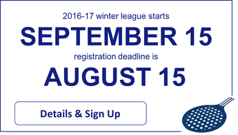 Cincinnati platform tennis league registration