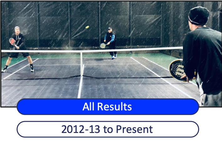 History of Platform Tennis League Results