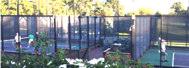 Platform Tennis at Kenwood Country Club
